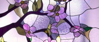 1123 Витражные окна – стильное решение для интерьера