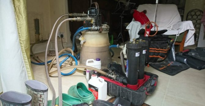 116 Как прочистить систему отопления в частном доме