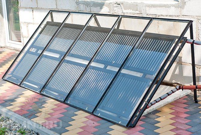 144 Отзыв об использовании солнечного коллектора (часть 1)
