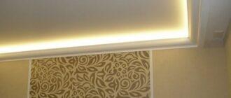 182b7556a6dce609c78ed66350a0e0d7 Подсветка натяжного потолка светодиодной лентой изнутри фото: по периметру, монтаж и установка, как своими руками