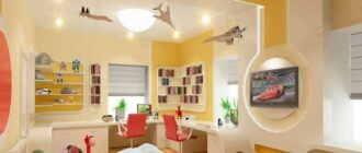 188 Школа светодизайна: освещение в детской комнате