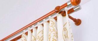 2 26 Как выбрать гардины для штор кухни: советы дизайнеров Вам помогут