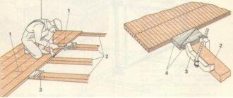 как правильно настелить деревянный пол в доме