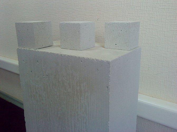 700px autoclaved aerated concrete Формы блоков из ячеистого бетона и их размеры