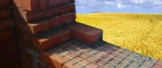 armirovanie kirpichnoj kladki vidy materialy instrukciya sovety kamenshchikov2 Как покрасить дачный домик своими руками. Покраска деревянного дома снаружи