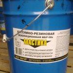bitumno rezinovaya mastika Чем можно разбавить битумную мастику: рассмотрим все нюансы