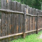 chastokol zabor7 Как сделать открывающийся забор в майнкрафте