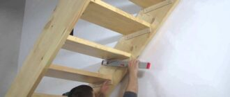 derevyannaya lestnica na vtoroy etazh svoimi rukami Чердачная лестница своими руками в доме. идеи +фото и видео