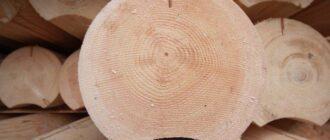 doma iz ocilindrovannogo brevna 1 Типы деревянных домов: плюсы и минусы каркасных, брусовых, бревенчатых домов и строений из клееного бруса