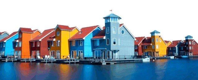 Красивый цвет фасада или как покрасить дом в 2018 году (с фото)