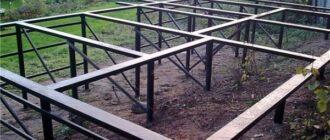 fundament na vintovyh svayah Установка винтовых свай под фундамент дома