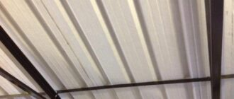 garazh iz metalloprofilya svoimi rukami Гараж из металлического профиля своими руками. Что такое гараж из металлопрофиля