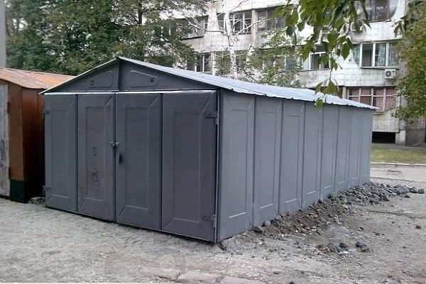 garazh metallicheskij 1 Металлические гаражи
