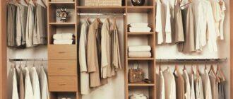 garderobnaya svoimi rukami chertezhi i shemy foto kak sdelat Как правильно подобрать мебель для гардеробной: подводные камни в оборудовании комнаты
