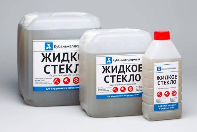 gidroizolyatsiya fundamenta zhidkim steklom2 Жидкое стекло для гидроизоляции бетона