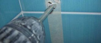 kak sdelat otverstie v kafelnoj plitke svoimi rukami foto Балконная дверь: особенности выбора и установка. Как сделать отверстие в керамической плитке под трубу или под вытяжку Как сделать дырку в кафеле под розетку