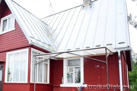 krisha 4 Крыша из железа своими руками