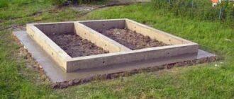 lentochnyj fundament dlya bani Слив в бане своими руками: как сделать отвод воды через пол