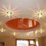 maxresdefault2 Как правильно располагать светильники на натяжном потолке?