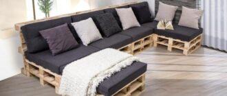 mebel iz poddonov 5 Как создать мебель из поддонов своими руками: пошаговые инструкции и рекомендации