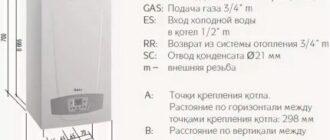 montazhnaya shema ustanovki kondensacionnogo kotla Какую температуру установить на котле с терморегулятором