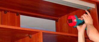 na foto montazh shkafa kupe Чертеж шкафа купе, сделанного своими руками