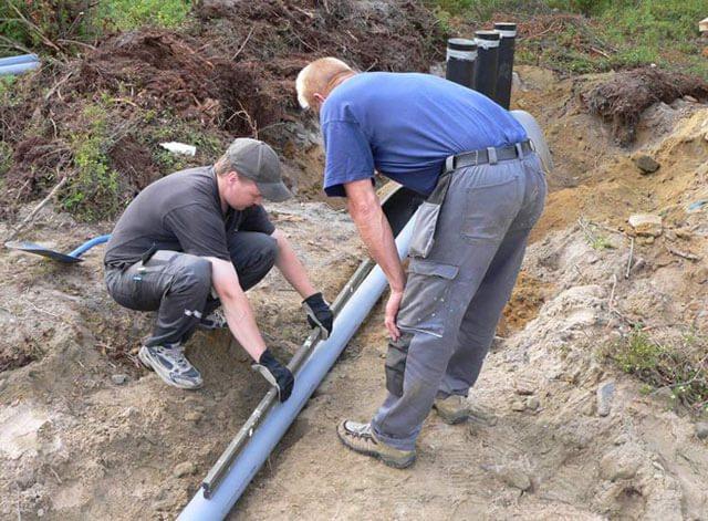 naklon kanalizacionnoj truby Какой уклон должен быть у канализационной трубы