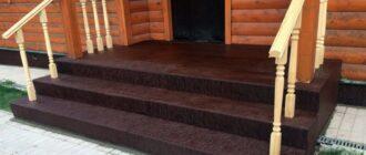 oblicovka krilca derevyannogo doma7 1024x683 Как сделать бетонное крыльцо своими руками- пошаговая инструкция