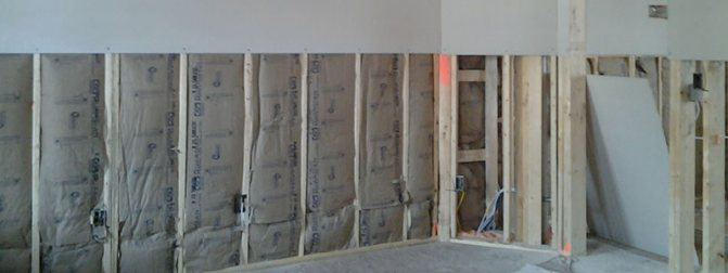 obshivka sten gipsokartonom Технология отделки стен гипсокартонными листами