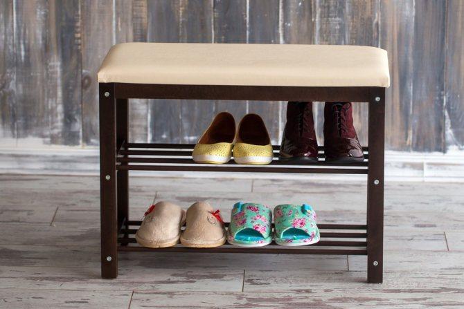 obuvnicza v prihozhuyu 54 Узкие обувницы в прихожую — лучшее решение для маленьких коридоров