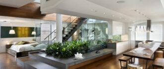 odin iz vozmozhnyh variantov Квартира в современном стиле — тонкости и нюансы дизайн интерьера