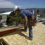 osb2 Устройство крыши из профнастила, обрешетка, монтаж