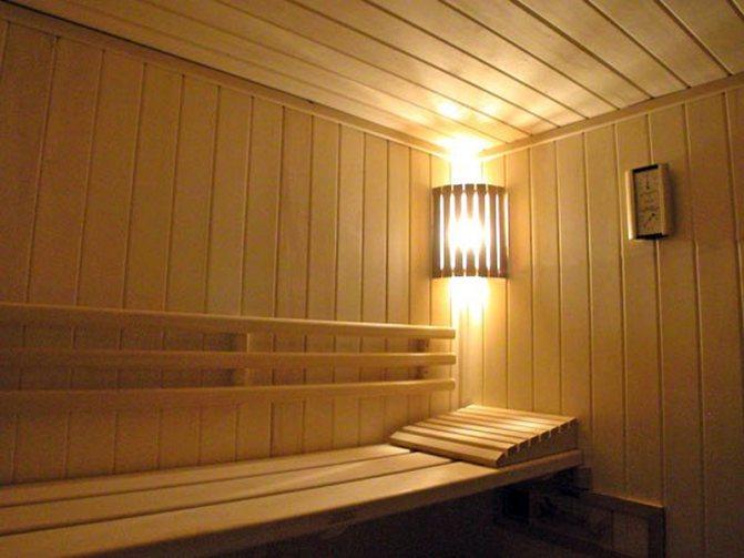 osveshchenie v bane Какие светильники выбрать для бани в парилку?