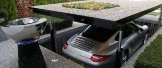 ploshchadka pod avtomobil na dache delaem stoyanku svoimi rukami Парковочное место на даче своими руками
