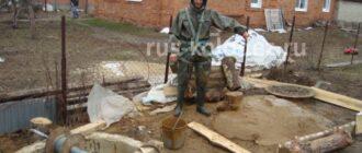 plyvun v kolodce2 Колодец на даче: где копать, чем укрепить, как оформить