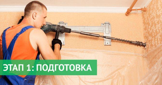 podgotovka k montazhnym rabotam po ustanovke kondicionera Как установить кондиционер своими руками?