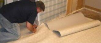 podrezka Как самостоятельно постелить линолеум на деревянный пол