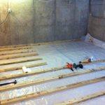 podval v chastnom dome foto Устраняем протечки в подвале: откачка воды, изоляция, дренаж