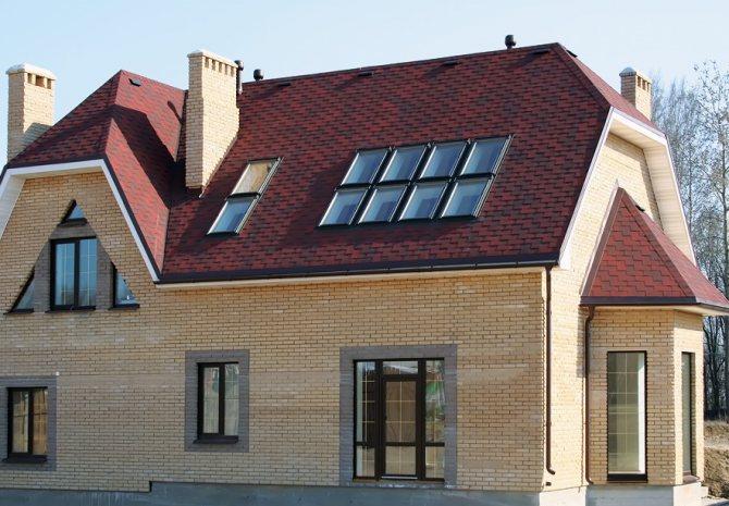poluvalmovaya krysha stropilnaya sistema Как построить вальмовую крышу своими руками