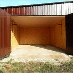 s raspashnymi vorotami стандартный размер подъемных гаражных ворот