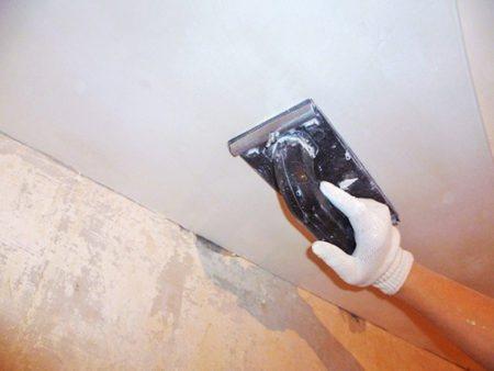 shtukaturka potolka 12 Как оштукатурить потолок: пошаговая инструкция