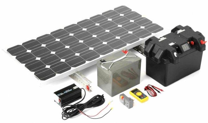 sostavlyayushchie solnechnoj stancii Варианты использования солнечных батарей для экономии Ваших средств