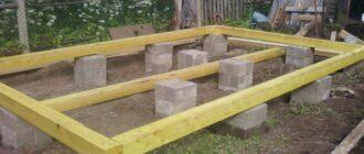 stolbchatyj fundament iz blokov 20h20h40 Как своими руками сделать фундамент из блоков 20х20х40 своими руками?