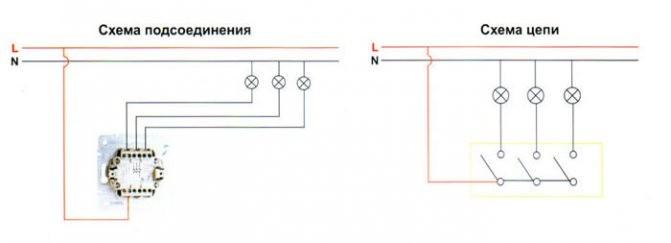ustanovka vikluchatelja 7 1 Как подключить двухклавишный выключатель с заземлением