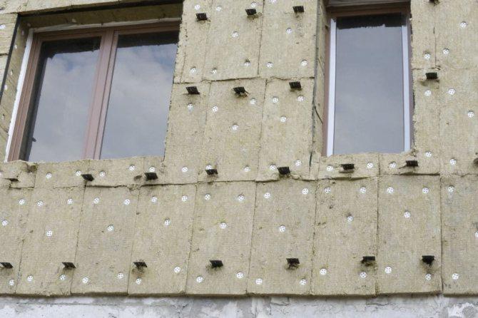 uteplitel pod sajding dolzhen imet paropronitsaemost Утепление стен базальтовыми плитами технология