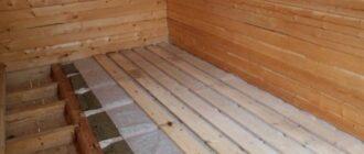 varianty utepleniya pola Утепление пола в деревянном доме: способы