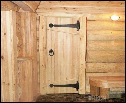 vid gluhaya Резная входная дверь для бани: выбор, монтаж своими руками