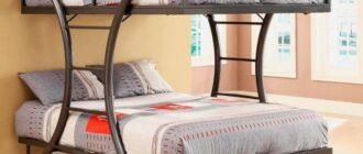 vidy dvuhyarusnyh krovatej Как сделать детскую двухъярусную кровать