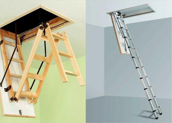vidy konstrukcij Как сделать складную лестницу стремянку своими руками