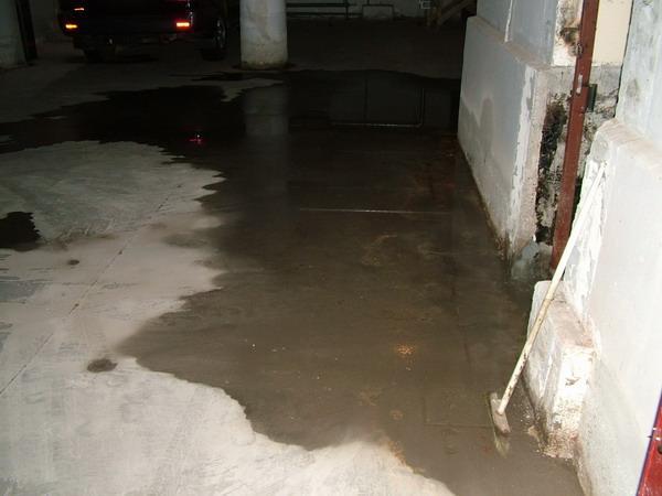 voda v podvale Как осушить подвал от грунтовых вод?